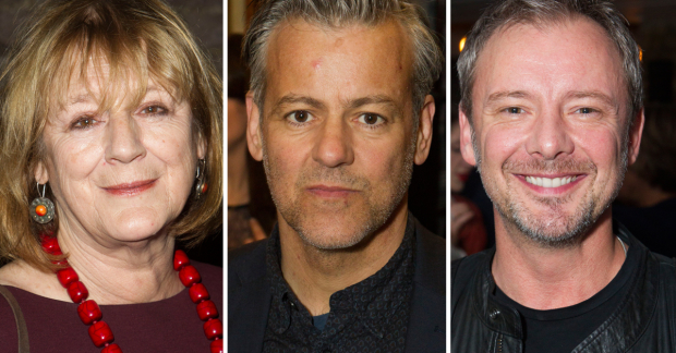 Maggie Steed, Rupert Graves and John Simm