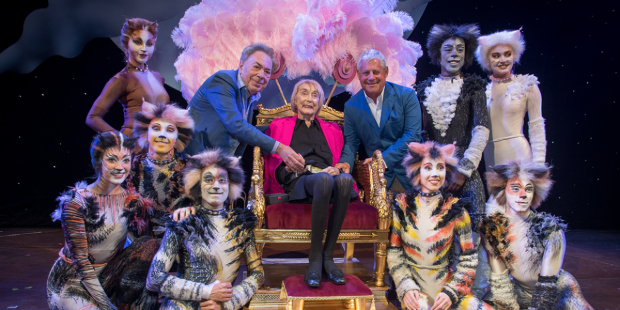 Andrew Lloyd Webber, Gillian Lynne and Cameron Mackintosh