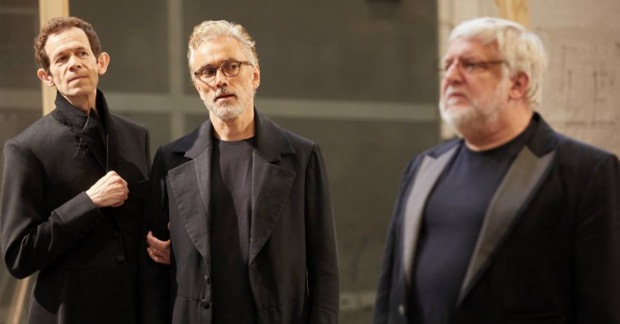 Adam Godley, Ben Miles and Simon Russell Beale