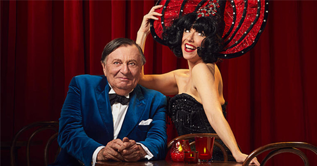 Barry Humphries and Meow Meow