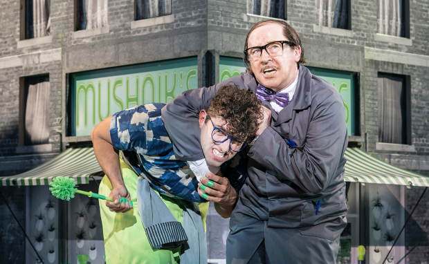 Marc Antolin and Forbes Masson in Little Shop of Horrors