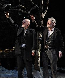 Nation's favourite? Patrick Stewart and Ian McKellen in Waiting for Godot