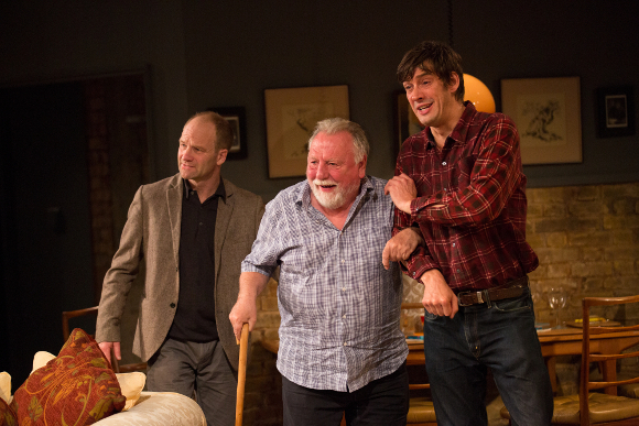Adrian Rawlings, Kenneth Cranham and Adrian Bower