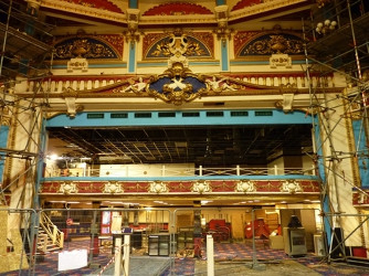 The Brighton Hippodrome has the highest risk value of six, and is threatened by cinema conversion