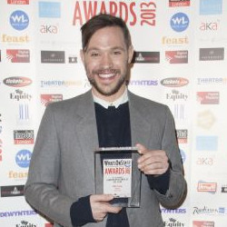 Will Young at the 2013 WhatOnStage Awards