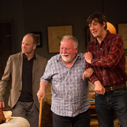 Adrian Rawlins, Kenneth Cranham and Adrian Bower