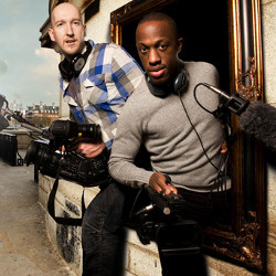 Dan Poole and Giles Terera