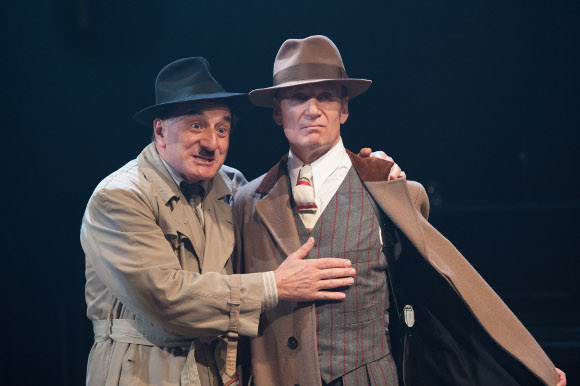 Henry Goodman and Michael Feast