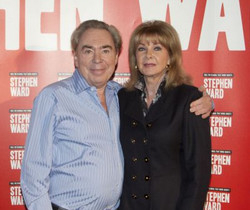 Andrew Lloyd Webber and Mandy Rice-Davies
