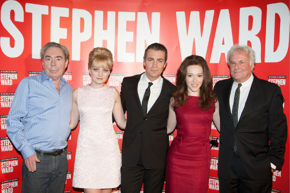 Richard Eyre (far right) at the launch of Stephen Ward