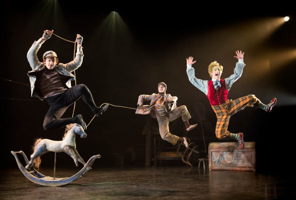 A scene from The Wind in the Willows