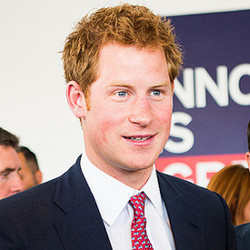 Was one impressed? Prince Harry