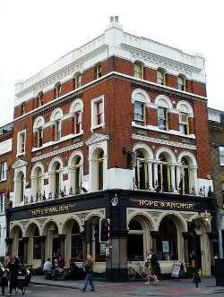 The venue will be above the Hope & Anchor pub