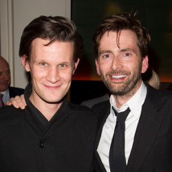 Who's Who: Matt Smith with David Tennant earlier this year