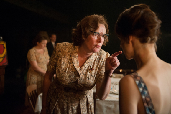 Linda Bassett and Jessica Raine
