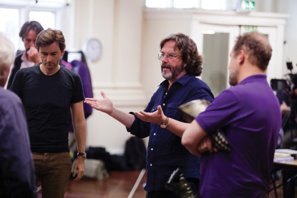 'I have always been obsessed by Shakespeare': Gregory Doran with David Tennant in rehearsals for Richard II