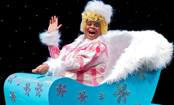 There ain't nothing like a Dame: Clive Rowe in panto at the Hackney Empire