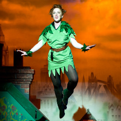 Fading tradition? An actress as Peter Pan