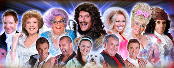 Some of this year's panto stars