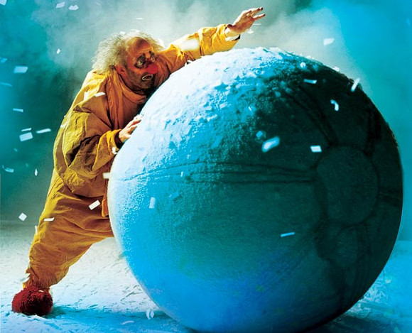 Having a ball: Slava's Snowshow