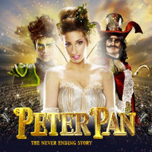 Stacey Solomon stars in Peter Pan: The Never Ending Story