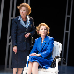 Stella Gonet and Fenella Woolgar in Handbagged