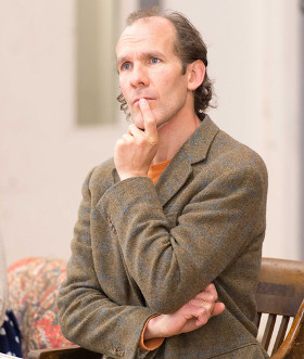 Simon Paisley Day in rehearsals for Raving