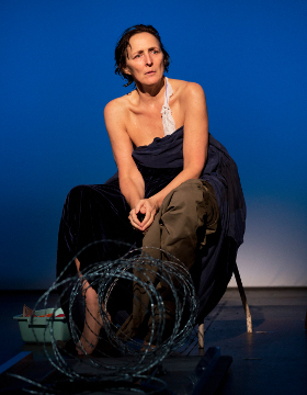 Fiona Shaw in The Testament of Mary