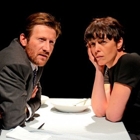 Mark Bazeley and Olivia Williams in Scenes From a Marriage at the St James