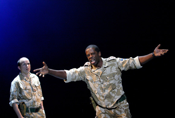 Othello stars Rory Kinnear and Adrian Lester will go head to head for Best Actor