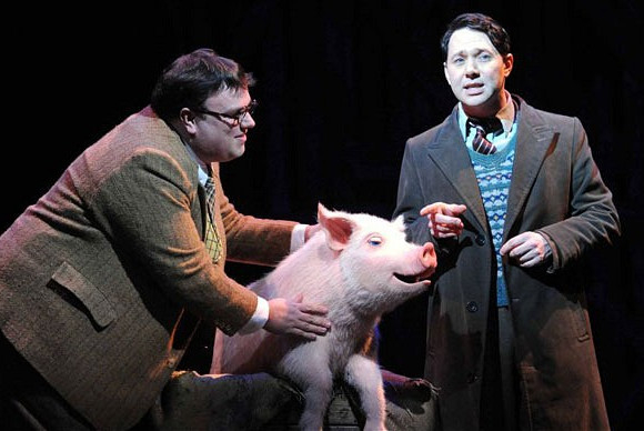 Jack Edwards and Reece Shearsmith in the original West End production