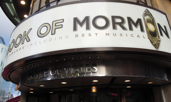 The Prince of Wales is currently home to The Book of Mormon