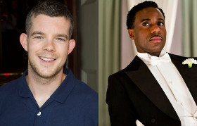 Russell Tovey and Gary Carr will play rising football stars