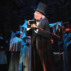 Bill Kenwright production of SCROOGE with Tommy Steele directed by Bob Thomson