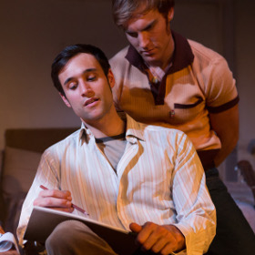Rik Makarem and James Cartwright