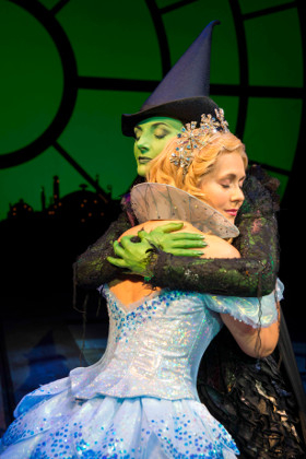 Savannah Stevenson and Willemijn Verkaik in Wicked