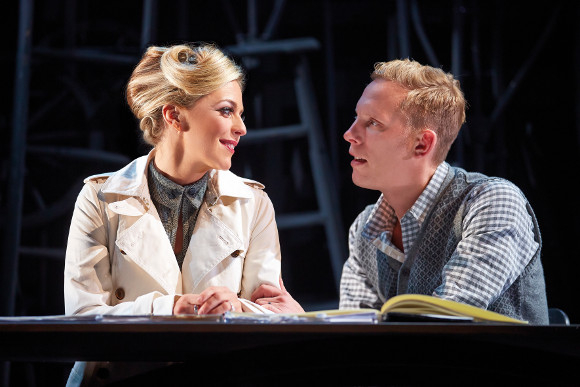 Miranda Raison and Laurence Fox in Strangers on a Train