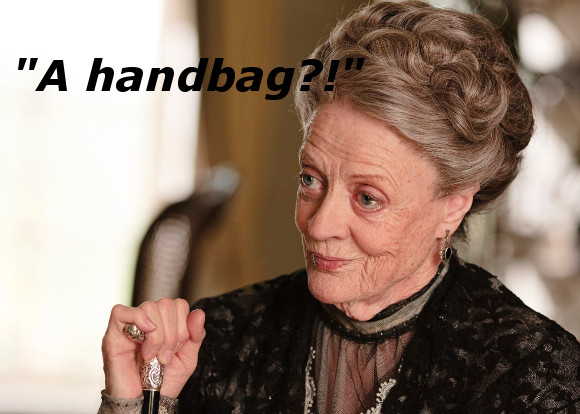 Smith's portrayal of the Dowager Duchess in Downton Abbey seems ideal prep for the formidable Lady B