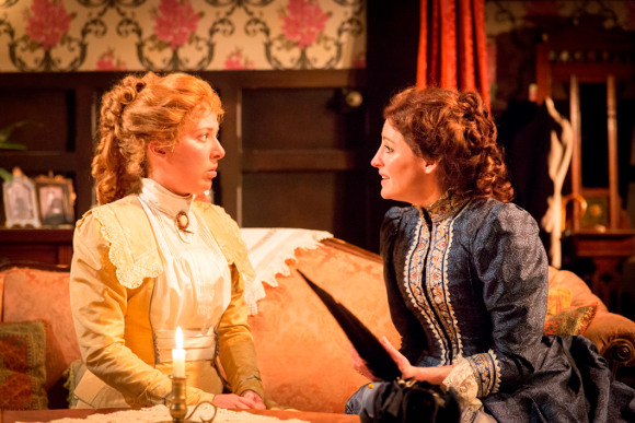 Natalie Casey and Flora Montgomery in In The Next Room