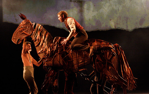 Joey the War Horse was a star of the NT 50 gala