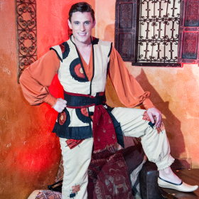Oliver Thornton as Aladdin