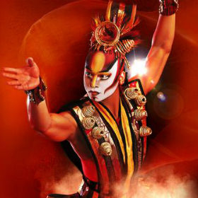 Cirque's touring arena show Dralion
