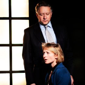Jasper Britton and Hermione Gulliford in Amygdala
