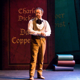 Damian Humbley as Charles Dickens