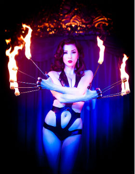Sizzling hot cabaret returns to Cafe de Paris