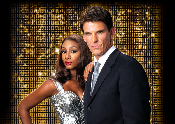 Beverley Knight with her Bodyguard co-star Tristan Gemmill