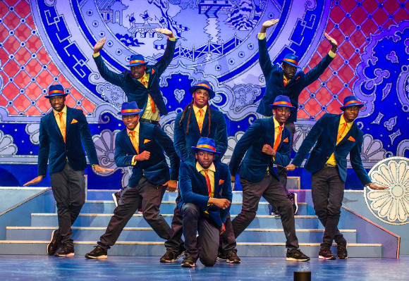Flawless performance: The Peking police force