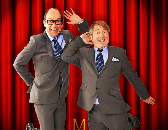 Jonty Stephens and Ian Ashpitel as Morecambe and Wise