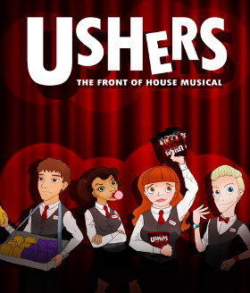 Ushers The Front Of House Musical WhatsOnStagecom - Front of house theatre