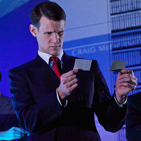 Matt Smith in American Psycho